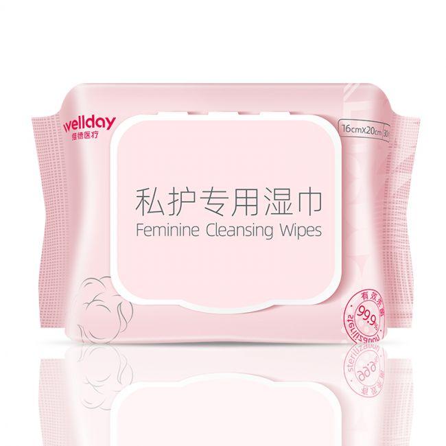 【爆品】维德女性私护湿巾 30片/包