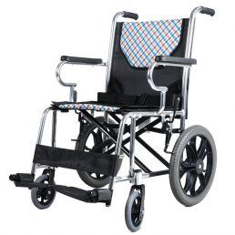 鱼跃轮椅H032可折叠小轮免充气