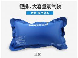 鱼跃便携式氧气袋42L可充氧气