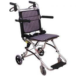 鱼跃铝合金轮椅1100外出便携式
