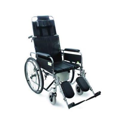 优瑞诚手动轮椅车RCG09带便盆高靠背